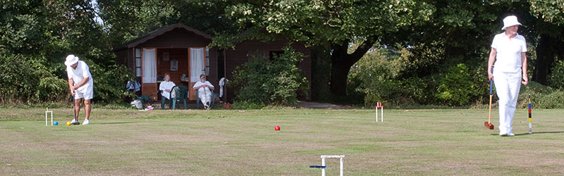 croquet at Rowley